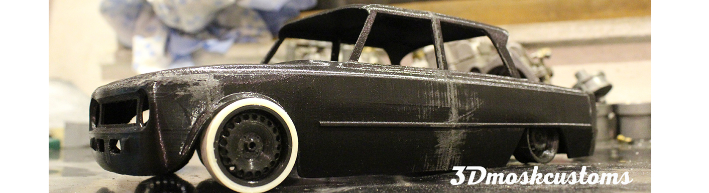 rc body car hand made