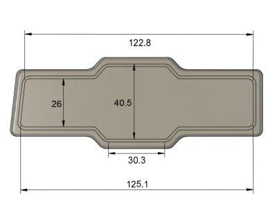 Dimensioni stemma montante porta alfasud
